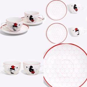 Mickey and Minnie tea set
